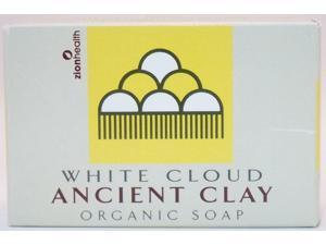 Organic Ancient Clay Natural White Cloud Scent - Zion Health - 6 oz - Bar Soap