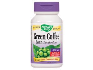 Green Coffee Bean, Std. - Nature's Way - 60 - VegCap