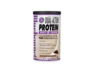 Dual Action Protein Chocolate - Bluebonnet - 1 lbs - Powder