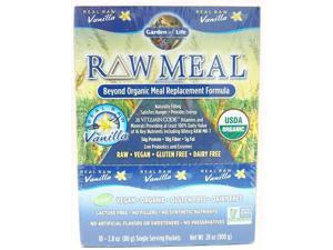 Raw Organic Meal - Vanilla - Garden of Life - 10 - Pack