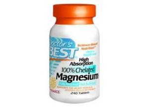 High Absorption Magnesium - Doctors Best - 240 - Tablet
