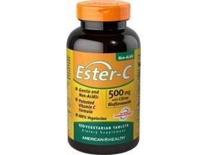 Ester-C 500 mg with Citrus Bioflavonoids - American Health Products - 450 - VegTab
