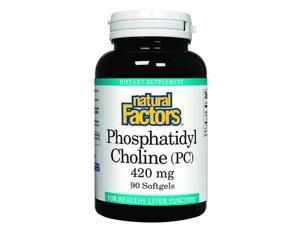 Phosphatidyl Choline PC - Natural Factors - 90 - Softgel
