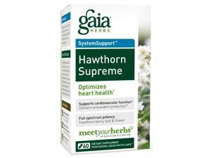 Hawthorn Supreme - Gaia Herbs - 60 - VegCap