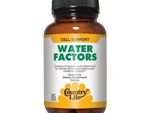 Water Factors - Country Life - 90 - Tablet