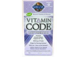 Vitamin Code Raw Prenatal - Garden of Life - 90 - VegCap