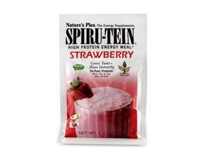 Spiru-Tein (Spirutein) Shake - Strawberry - Nature's Plus - 8 - Packet