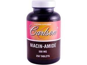 Niacinamide 500mg - Carlson Laboratories - 250 - Tablet