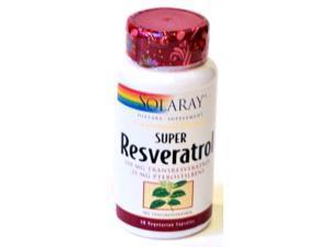 Super Resveratrol w/Pterostilbene - Solaray - 30 - Capsule