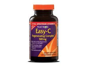 Easy-C Regenerating Complex 500mg With Bioflavonoids - Natrol - 120 - VegCap