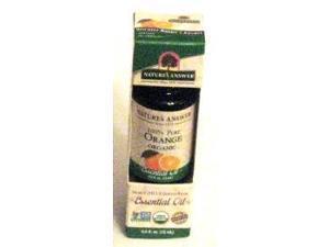Essential OIl Organic Orange - Nature's Answer - 0.5 oz - Liquid