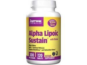 Alpha Lipoic Sustain 300 - Jarrow Formulas - 120 - Tablet