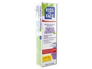 Toothpaste Triple Action-Anticavity - Kiss My Face - 4.1 oz - Paste