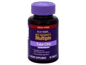 My Favorite Take-One Multiple - Iron Free - Natrol - 60 - Tablet