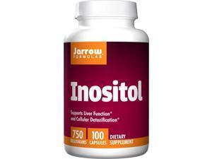 Inositol 750mg - Jarrow Formulas - 100 - Capsule