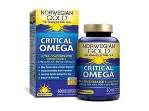 Norwegian Gold Critical Omega - Renew Life - 120 - Softgel