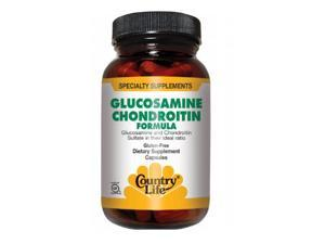 Glucosamine Chondroitin - Country Life - 90 - Capsule