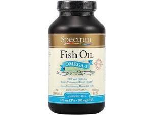 Fish Oil Norwegian 1000mg - Spectrum Essentials - 250 - Softgel