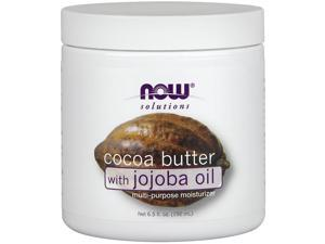 NOW? Solutions - Cocoa Butter with Jojoba Oil - 6.5 fl. oz (192 ml) by NOW