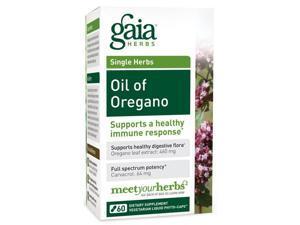 Oil Of Oregano - Gaia Herbs - 120 - VegCap