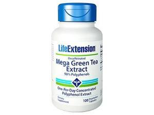 Mega Green Tea Extract (Decaffeinated) - Life Extension - 100 - VegCap