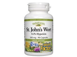 St. John's Wort Extract 300mg - Natural Factors - 90 - Capsule