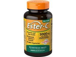 Ester-C 1000 mg with Citrus Bioflavonoids - American Health Products - 90 - VegTab