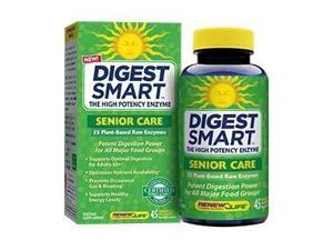 Digest Smart Adult 50+ Care (Formerly Senior Care) - Renew Life - 45 - VegCap