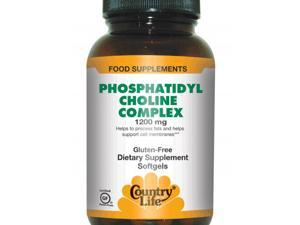 Phosphatidyl Choline Complex 1200mg - Country Life - 200 - Softgel