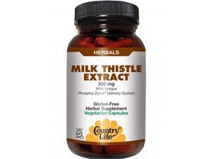 Milk Thistle Extract 200mg - Country Life - 60 - VegCap