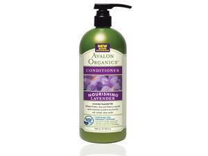 Conditioner Organic Lavender - Nourishing Value Size - Avalon Organics - 32 oz - Liquid