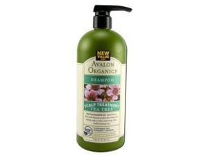 Shampoo Tea Tree - Avalon Organics - 32 oz - Liquid