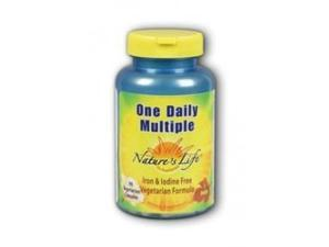 One Daily Multiple - Iron-Free - Nature's Life - 90 - Capsule