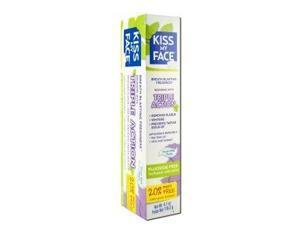 Toothpaste Triple Action Fluoride Free - Kiss My Face - 4.1 oz - Paste