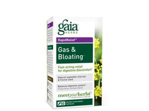 Rapid Relief Gas & Bloating - Gaia Herbs - 50 - VegCap