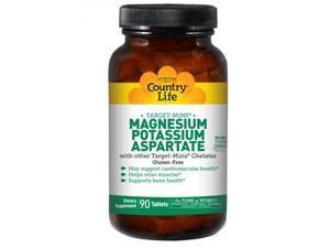 Magnesium-Potassium-Aspartate - Country Life - 90 - Tablet