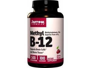Methyl B-12 500 mcg - Jarrow Formulas - 100 - Lozenge