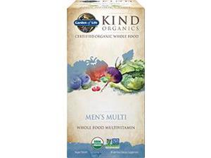 Kind Organics Men Multi 40+ - Garden of Life - 60 - Tablet
