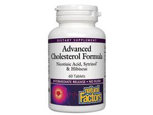 Advanced Cholesterol Formula - Natural Factors - 60 - Tablet