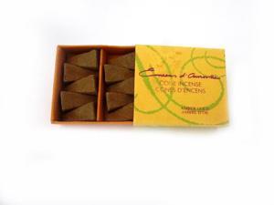 EDA Incense Cone Amber Gold - Maroma - 10 - Cone