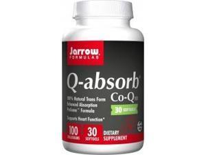 Q-absorb Co-Q10 100mg - Jarrow Formulas - 30 - Softgel