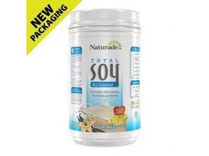Total Soy Meal Replacement - French Vanilla - Naturade Products - 2.4 lbs - Powder