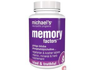 Memory Factors - Michael's Naturopathic - 60 - Tablet