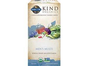 Kind Organics Men Multi 40+ - Garden of Life - 120 - Tablet