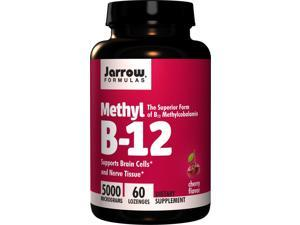 Methyl B-12 5000mcg - Jarrow Formulas - 60 - Lozenge