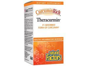 CurcuminRich - Theracurmin - Natural Factors - 120 - VegCap