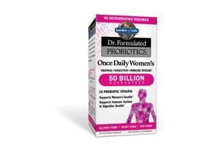 Dr. Formulated Probiotic - Once Daily Women's  50 Billion - Garden of Life - 30 - Capsule