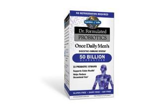 Dr. Formulated Probiotic - Once Daily Men's 50 Billion - Garden of Life - 30 - Capsule