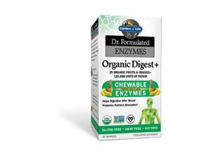Dr. Formulated Probiotic -Organic Digest+Tropical Fruit - Garden of Life - 90 - Chewable