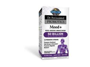 Dr. Formulated Probiotic - Mood+  50 Billion - Garden of Life - 60 - Capsule